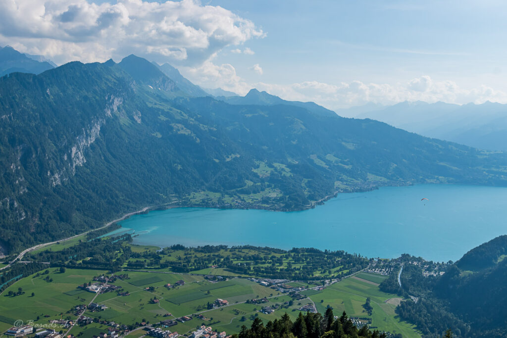 Ein Traum in Blau – harder Kulm - Thunersee