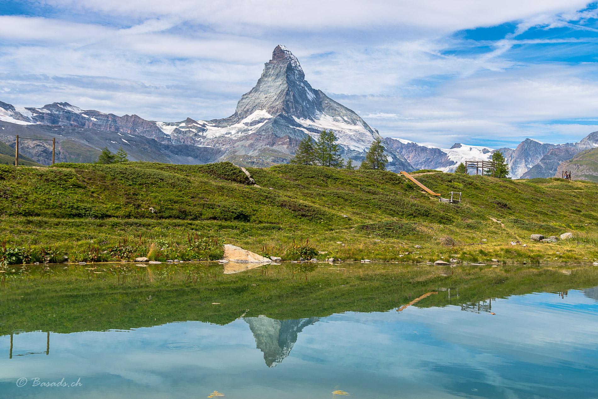 5-Seen Wanderung nahe am Matterhorn in Zermatt