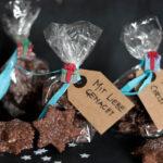 Weihnachtskekse: Schokoladen Zimtsterne