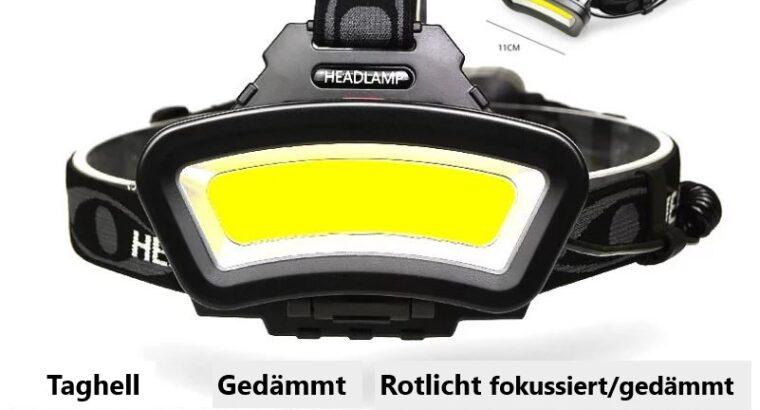"""FENEK . SHOP – kraftvolle Stirnlampe """"POWER"""""""