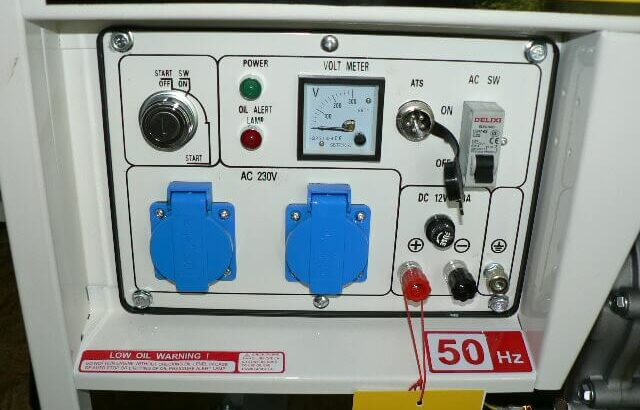 Diesel Generator DG6000E – YANMAR (C)