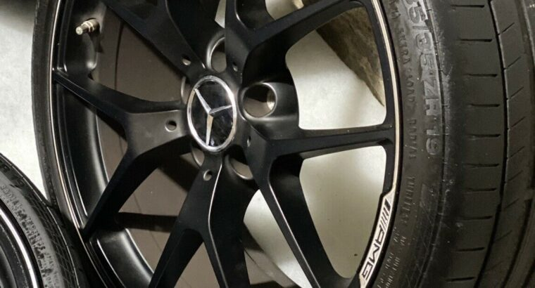 Mercedes C63 AMG Edition 507 19 Zoll Felgen W204 Black Series