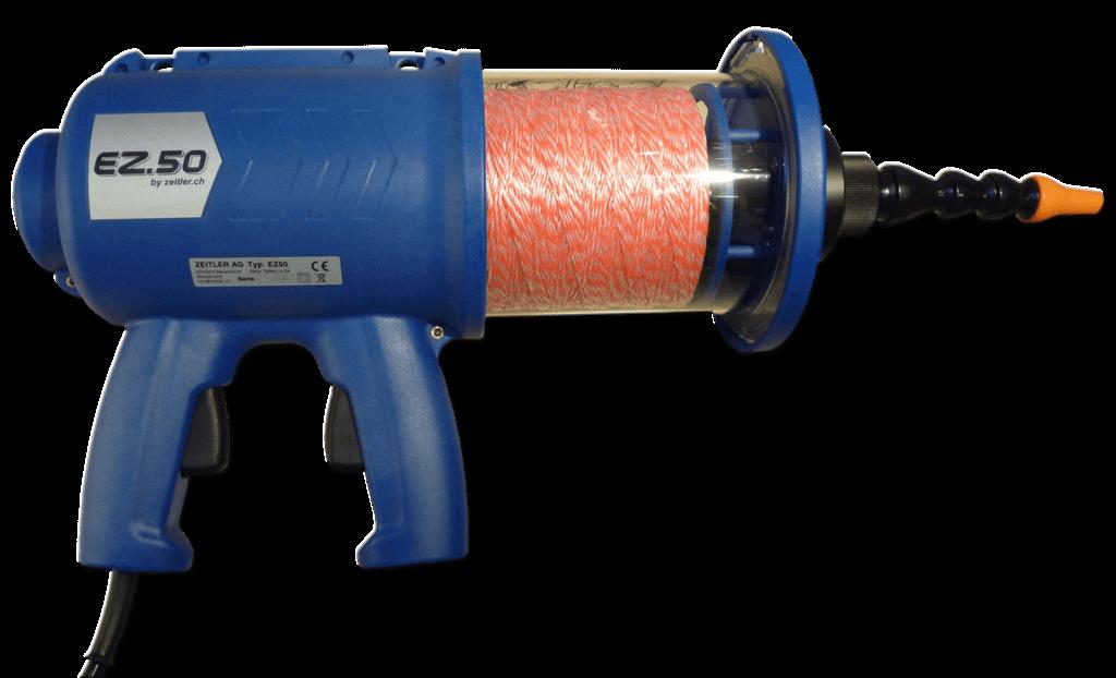 Schnureinblasgerät / Schnureinzuggerät Zeitler EZ50