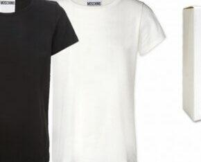 Moschino T-Shirts Herren Mix schwarz weiss