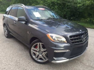 Used Mercedes Benz ML63 AMG 2014