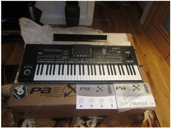 Neu Korg Pa3XPro 76-schlüssel Arranger Keyboard