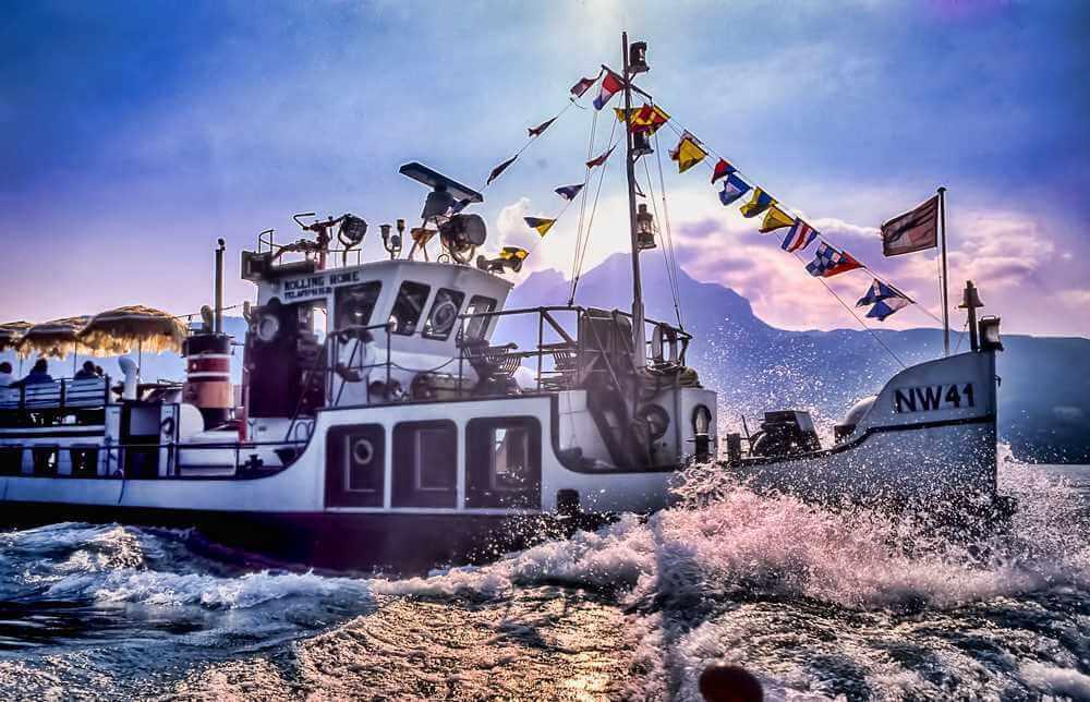 Oldtimer Schiff zu vermieten für Firmen- und Privatanlässe