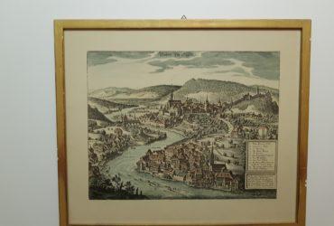 Stich von der (alten Stadt Baden AG )