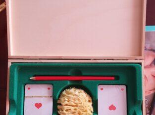 """JASS-Box aus den 80er Jahren / """"Es guets Blatt"""""""
