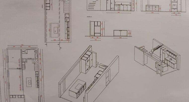 Komplett renovierte 3 1/2 Zimmer Maisonettewohnung mit traumhafter Aussicht