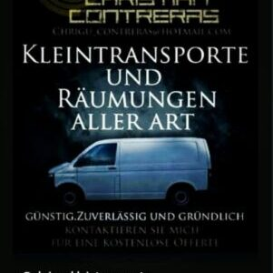 Kleintransporte Transporttaxi Möbeltaxi Warentaxi Räumungen Bern Thun Biel