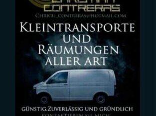 Kleintransporte Transporttaxi Recycling Box Bern Thun