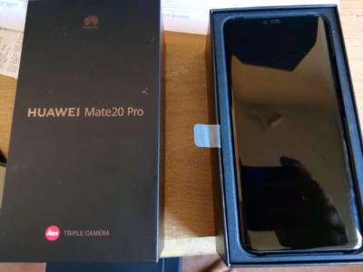 Huawei Mate 20 Pro + 128 GB Speicherkarte