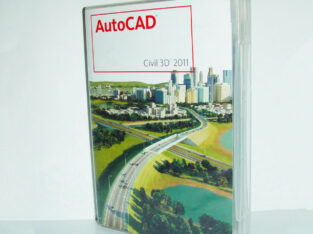 Autodesk AutoCAD Civil 3D 2011, DVD BOX Vollversion