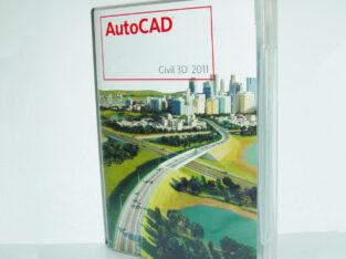 Autodesk AutoCAD Civil 3D 2011, DVD BOX Vollversion