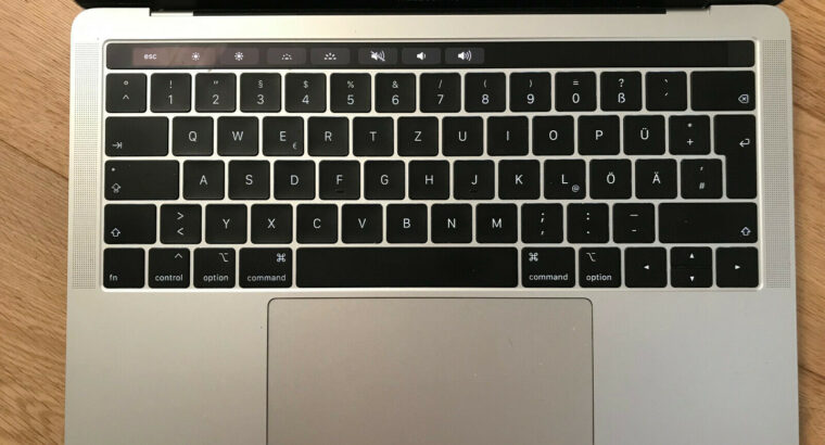 Macbook Pro 2018 512GB 16GB Touch Bar