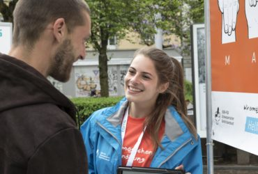 Kommunikationstalente gesucht für flexible Hilfswerkeinsätze