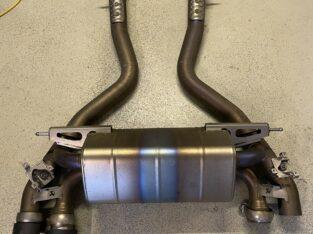 Akrapovic Titan Sportauspuff Endschalldämpfer BMW M2 Competition F87 Carbon