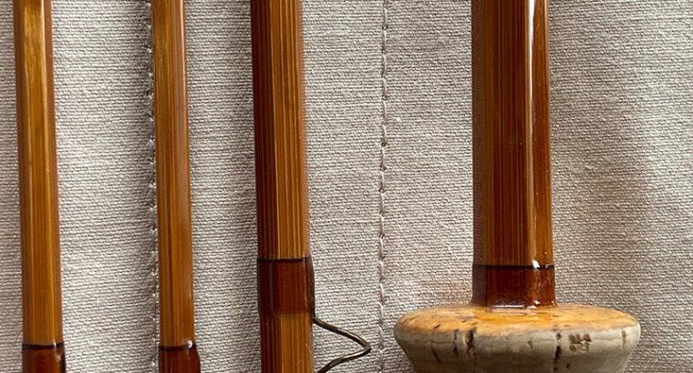 Jim Reams, 8′ , 3 teilig, Schnurklasse #5 Bambusrute