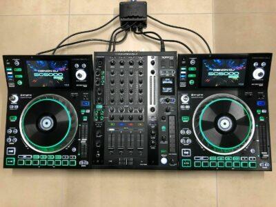 Denon DJ Prime Bundle – 2 x SC5000 Prime – X1800 Prime