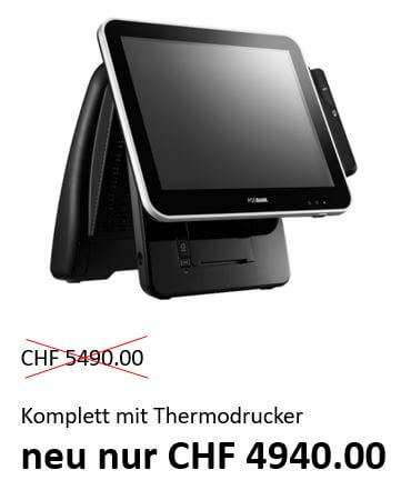 TSKK Touch Screen Kasse Komplett für Gastgewerbe