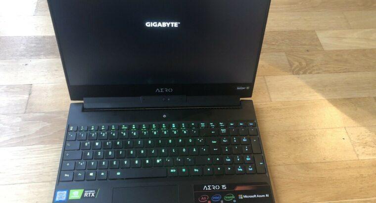 Gigabyte AERO 15-y9 i7-8750h RTX 2080 32GB DDR4 1TB SSD