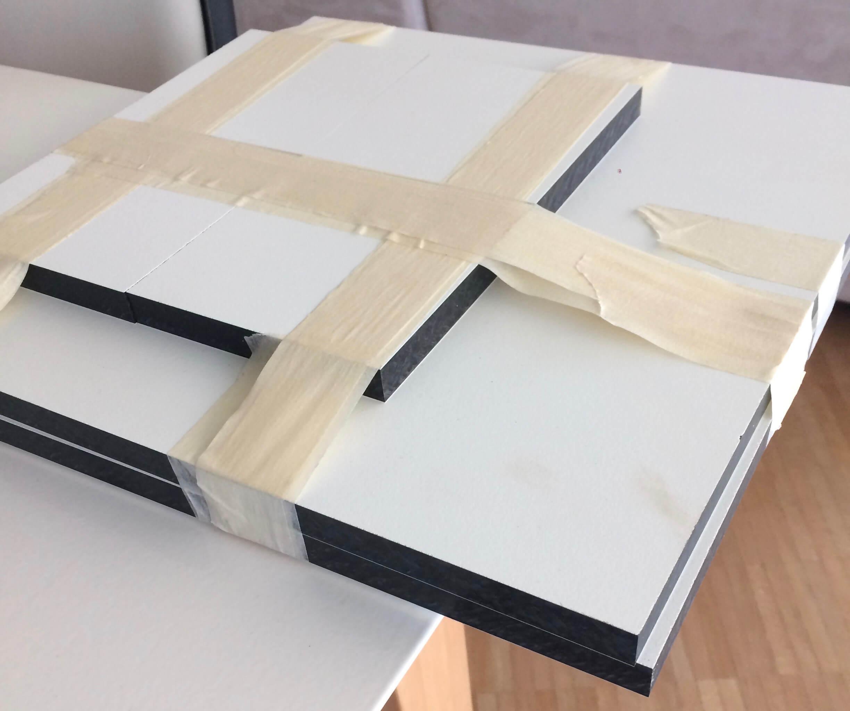 Hartpapierplatten