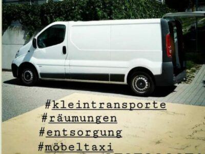 Kleintransporte Transporttaxi Möbeltaxi Warentaxi Bern Thun Biel
