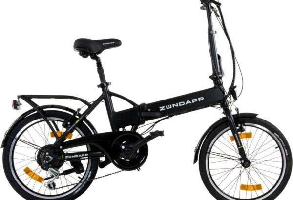 E-Bike Zündapp Pedelec City Bike Alu Rad 20 Zoll Elektro Falt Klapp Fahrrad