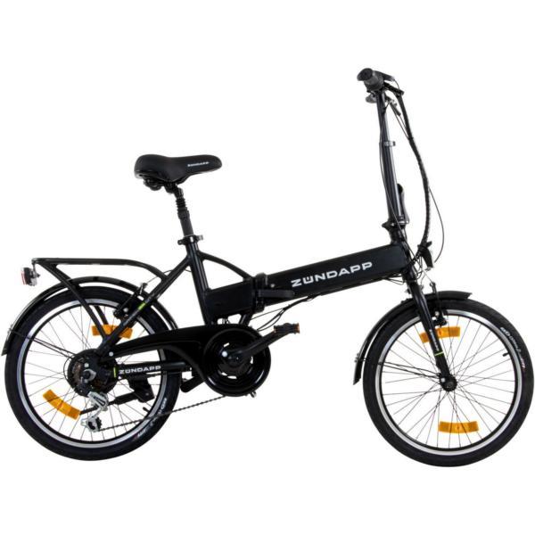 e bike z ndapp pedelec city bike alu rad 20 zoll elektro falt klapp fahrrad. Black Bedroom Furniture Sets. Home Design Ideas