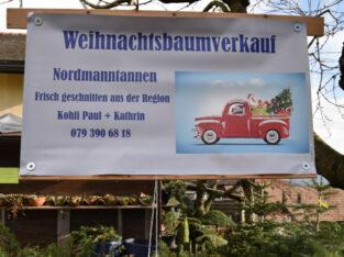 Hochwertige Weihnachtsbäume zu fairen Preisen – Nachhaltig produziert und direkt vor Ort kaufen – Aus dem Schweizer Wald