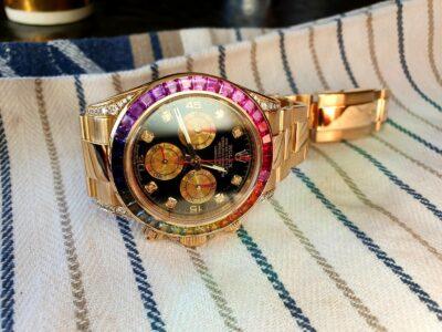 Rolex Daytona Rainbow 116528