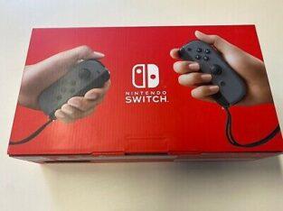 Nintendo Switch 32 Go Gray console avec Gray Joy-détenu V2