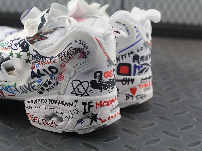 Vetements Reebok Insta Pump X Sneaker Gr 39